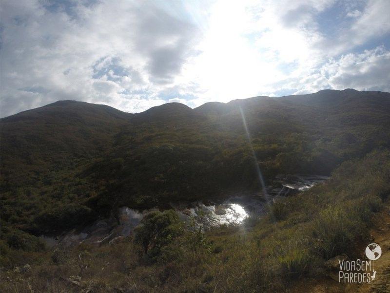 Cachoeira antes do Terreirão