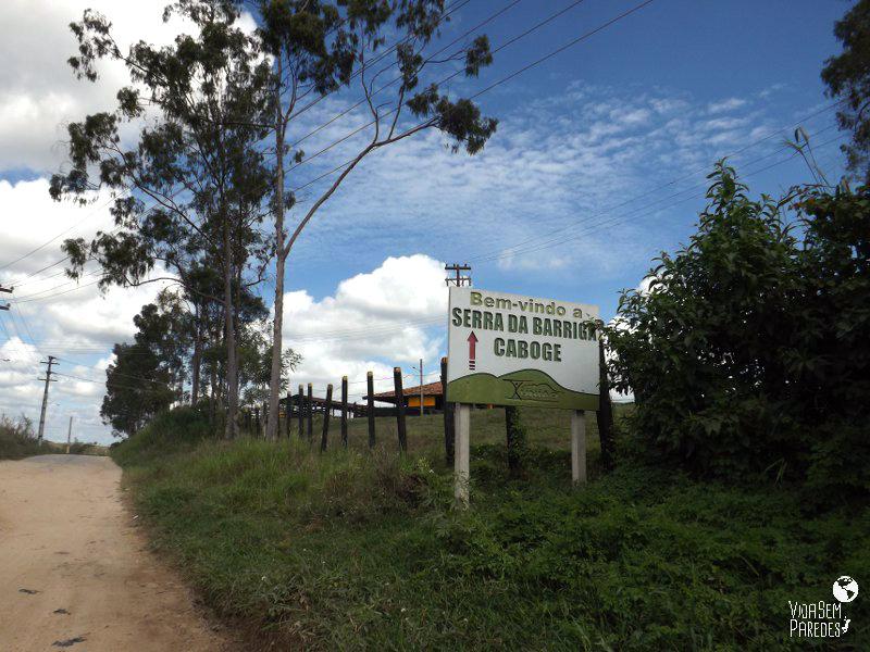 Subida para a Serra da Barriga