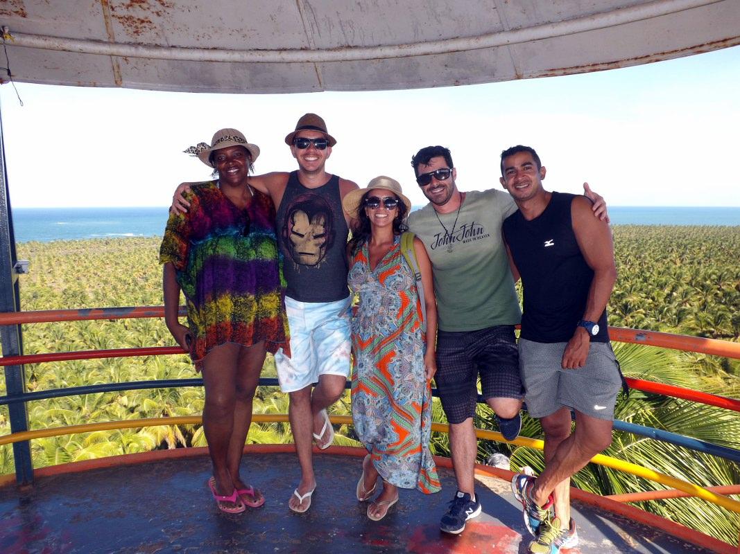 Vida sem Paredes - praias de Alagoas