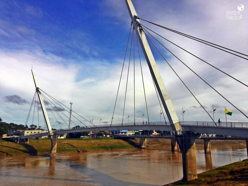 O que fazer em Rio Branco, Acre: Passarela Joaquim Macedo - Rio Branco