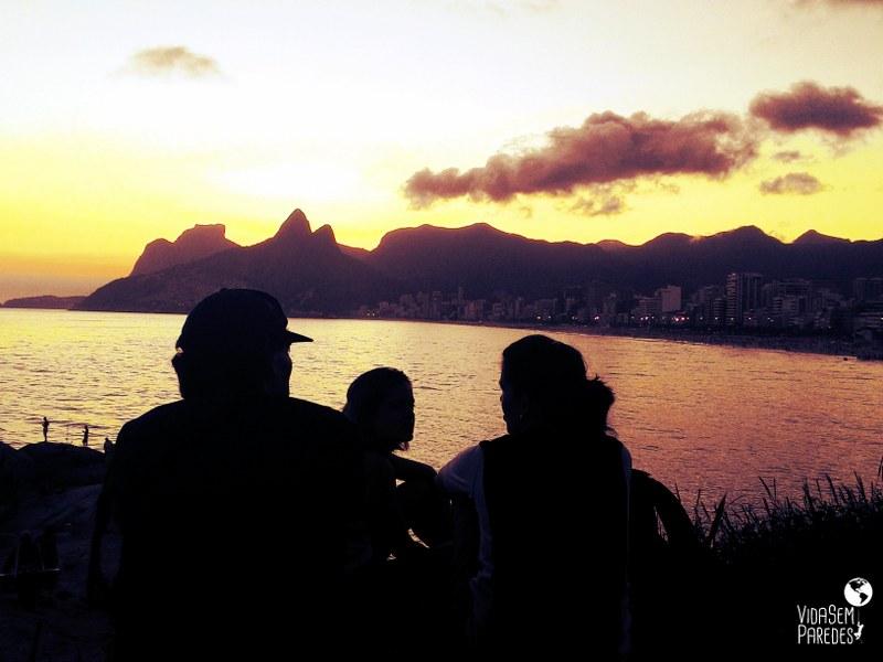 Atrações gratuitas no Rio de Janeiro - Pôr do Sol no Arpoador