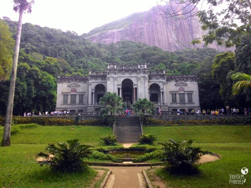 cidades históricas do Rio de Janeiro: Parque Lage