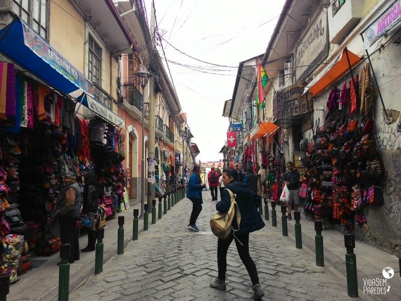 dicas de mochilão na Bolívia: La Paz