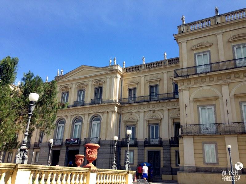 Vida sem Paredes - Museu Histórico Nacional no Rio de Janeiro