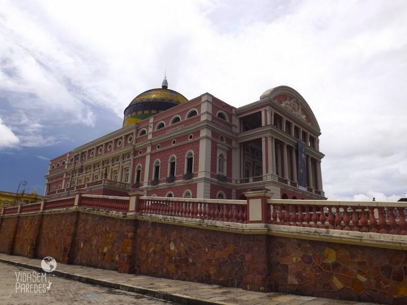 Dicas de passeios e atrações em Manaus: Teatro Amazonas