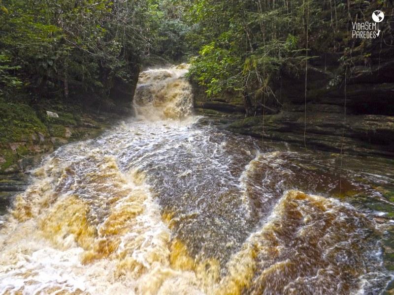 cachoeiras em Presidente Figueiredo - AM: Cachoeira do Santuário