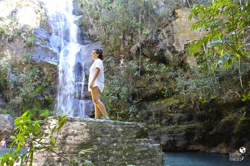 Chapada dos Veadeiros: como chegar na cachoeira Santa Bárbara (GO)