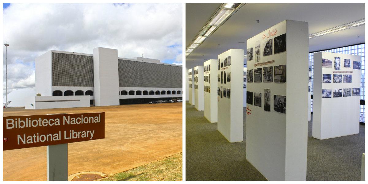 Biblioteca Nacional, Atrações em Brasília - DF