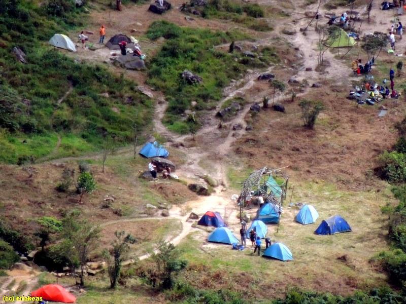 acampamentos no Monte Roraima : Base