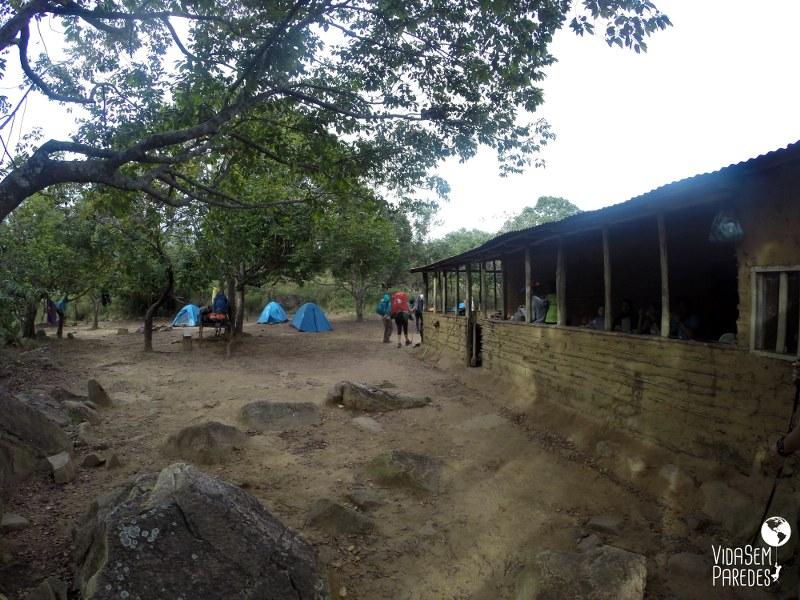 acampamentos no Monte Roraima: Kukenan