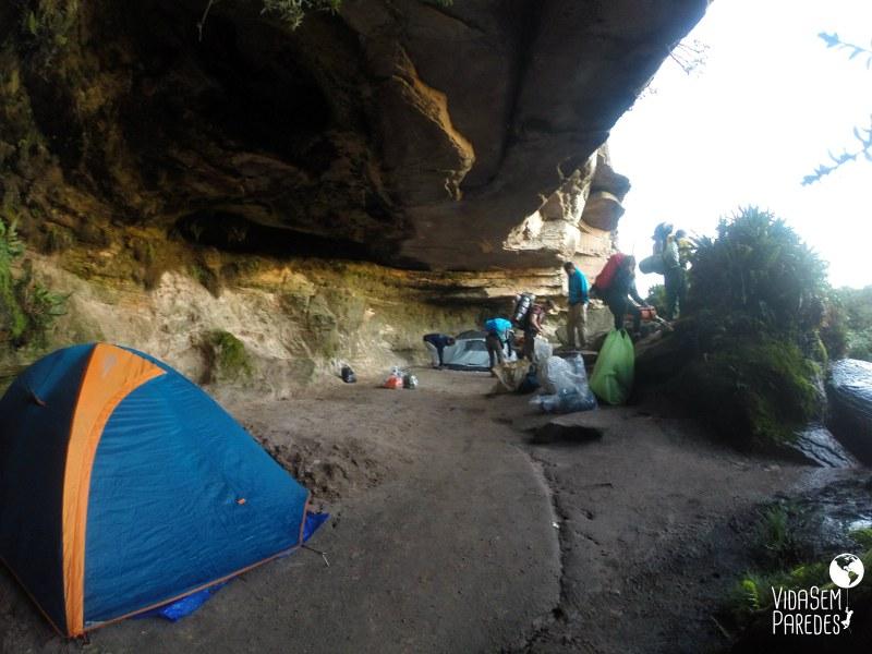 acampamentos no Monte Roraima: São Francisco