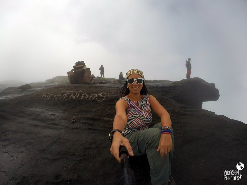 Atrações no Monte Roraima: La Proa