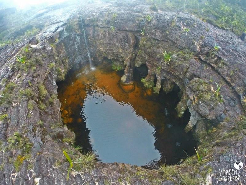 Atrações no Monte Roraima: El fosso