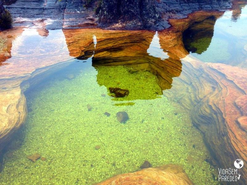 Atrações no Monte Roraima: Los Jacuzzis