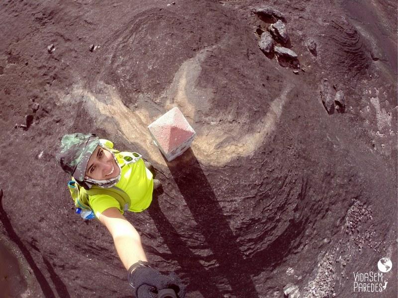 Atrações no Monte Roraima: Marco do IBGE