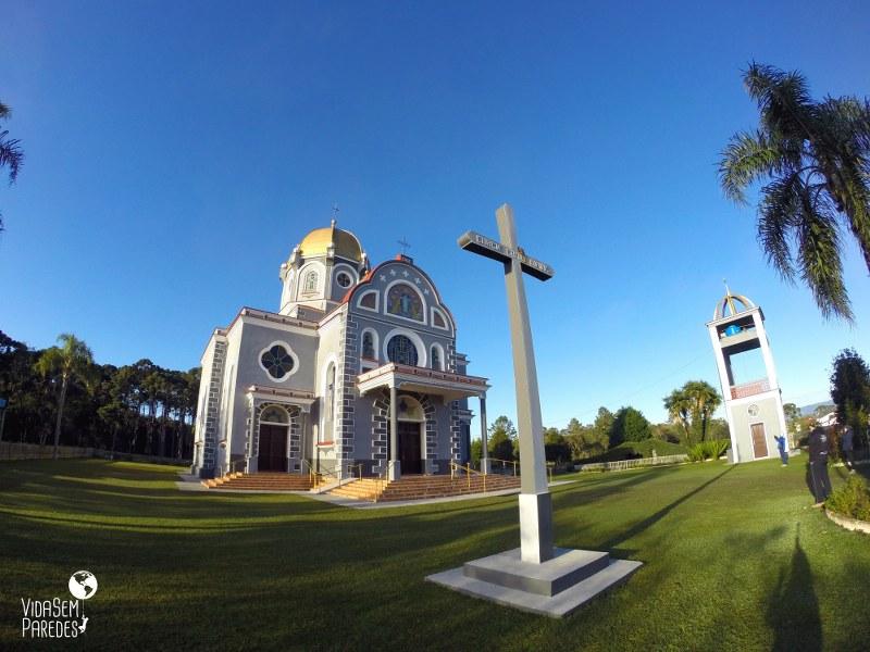 O que fazer em Pudentópolis, Paraná: Igrejas em estilo bizantino