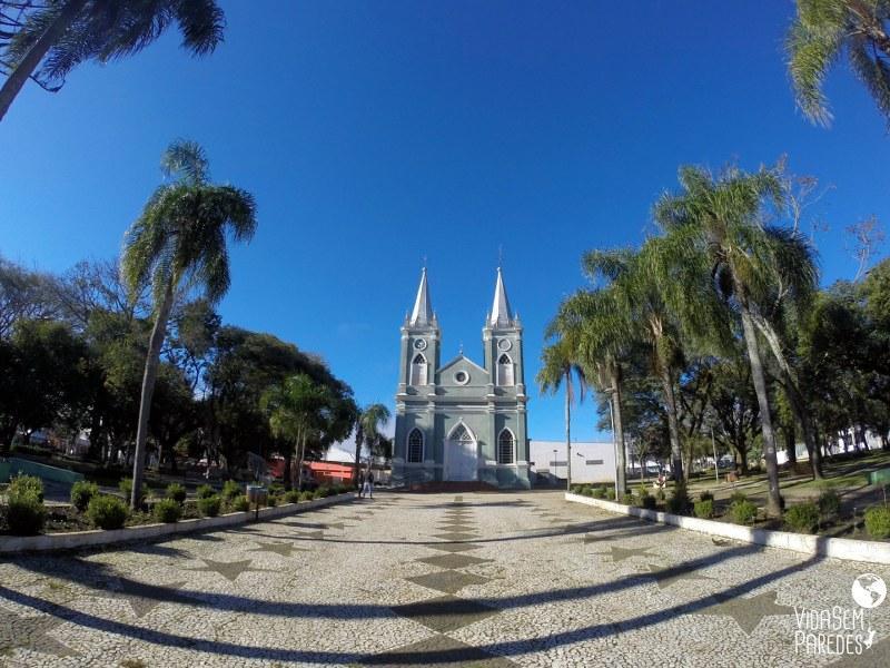 atrações culturais em Prudentópolis: Igreja São João Batista