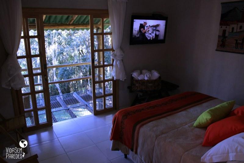 Ninho do Corvo: Onde se hospedar em Prudentópolis, Paraná