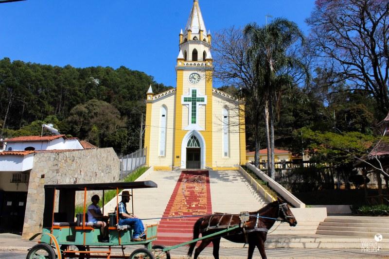 O que fazer em Passa Quatro - MG: Igreja Matriz São Sebastião