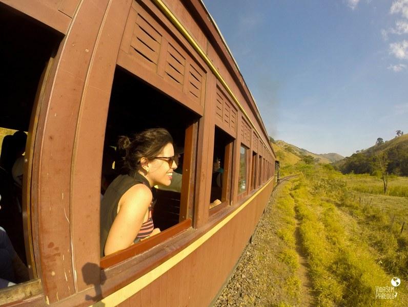 O que fazer em Passa Quatro - MG: Trem da Serra da Mantiqueira