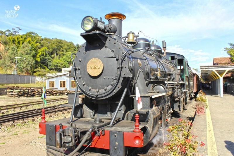 Trem das Águas, São Lourenço - MG