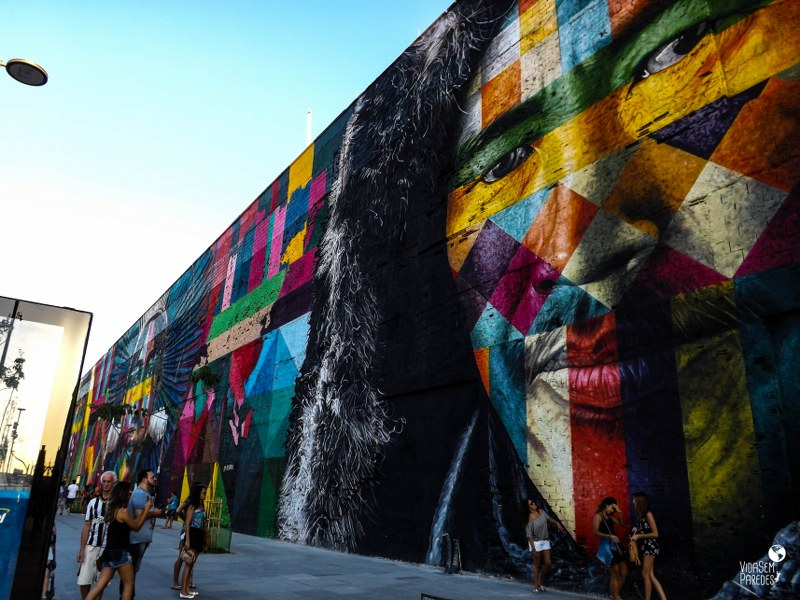 mural etnias rio