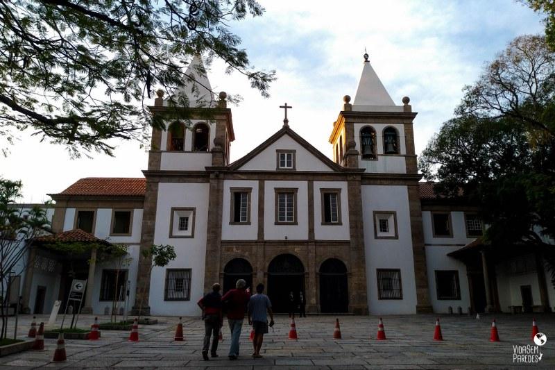 Atrações gratuitas no Rio de Janeiro - Mosteiro São Bento