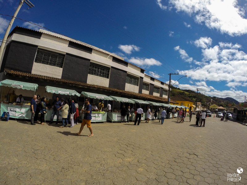 Santa Rita de Jacutinga - MG: Feira da Roça