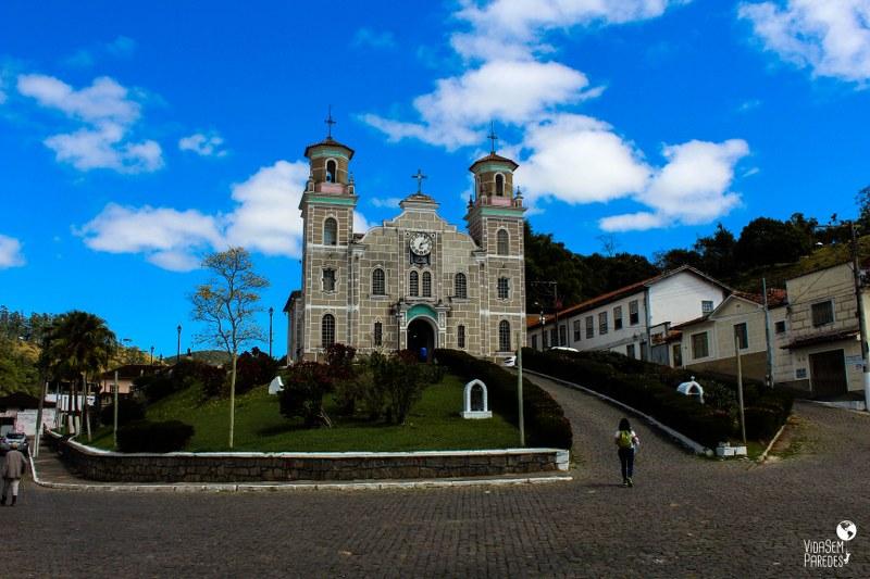 Santa Rita de Jacutinga - MG: Igreja Matriz Santa Rita de Cássia