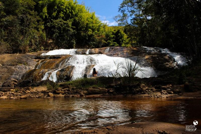 Santa Rita de Jacutinga - MG: Cachoeira Vargem do Sobrado