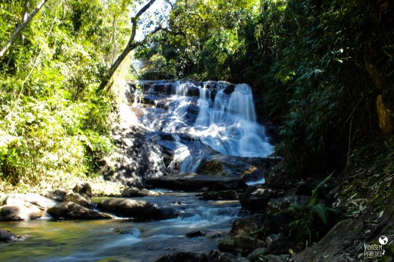 Santa Rita de Jacutinga - MG: Cachoeira do Batismo