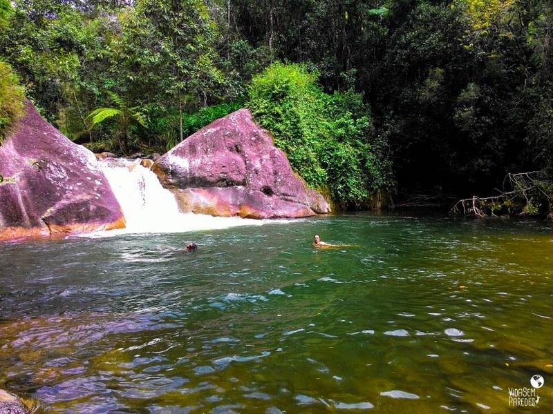cachoeiras em Visconde de Mauá - Poção da Maromba