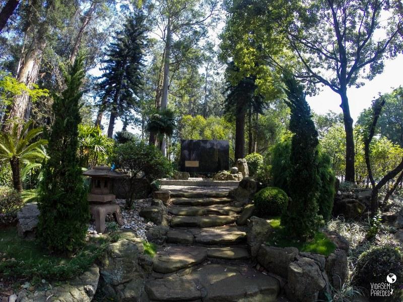 Parque Ibirapuera - São Paulo: Jardim Japonês
