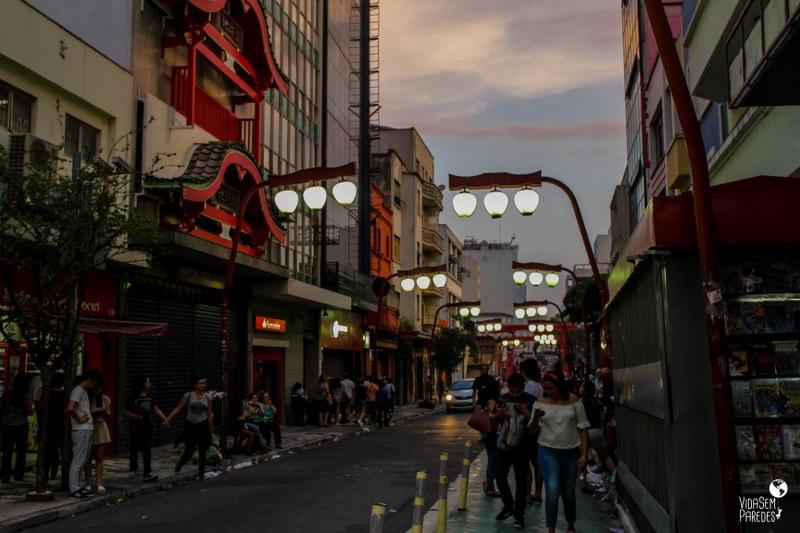 atrações para conhecer a pé no centro de São Paulo: Liberdade