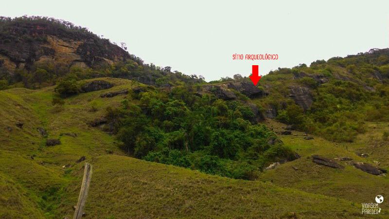 Sítio Arqueológico Toca do Índio, Chiador/Mar de Espanha - MG