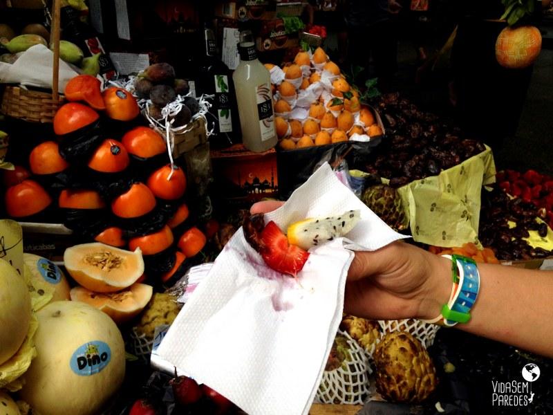 Frutas exóticas do Mercado Municipal de São Paulo