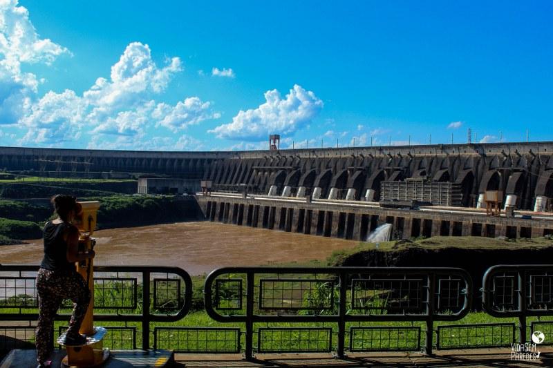 Passeios na Usina de Itaipu (Paraná)