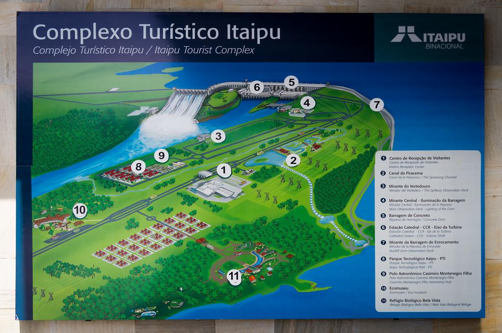 Passeios na Usina de Itaipu