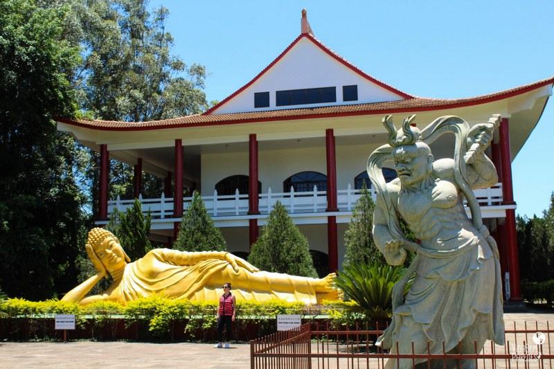 O que fazer em Foz do Iguaçu: Templo Budista