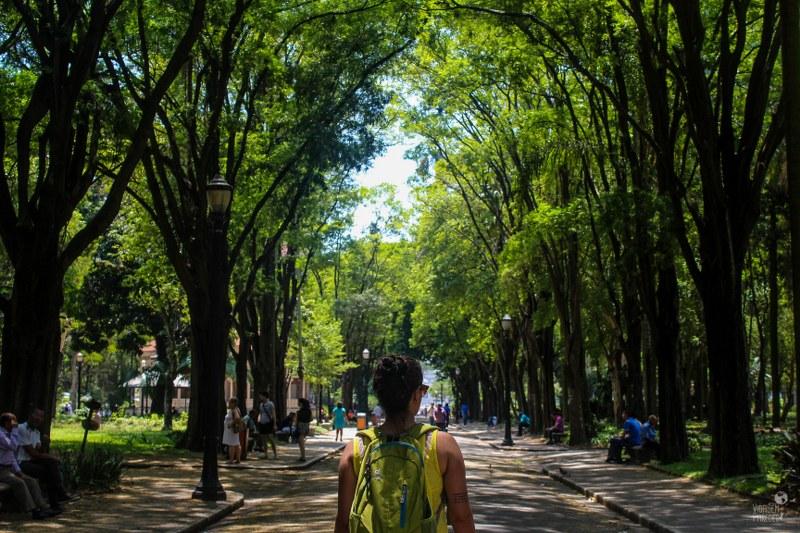 Pontos turísticos de SP: Pinacoteca de São Paulo e Jardim da Luz