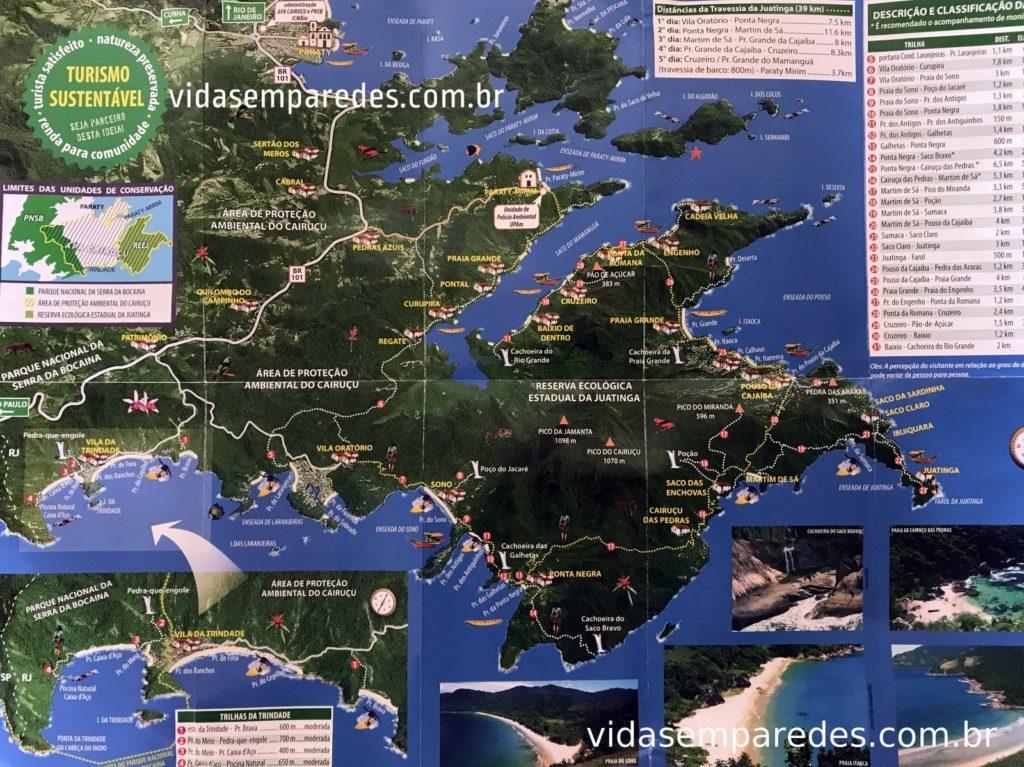 mapa Trindade rj