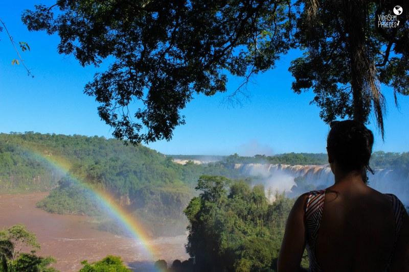 Parque Nacional Iguazú: cataratas Argentina, Isla San Martín
