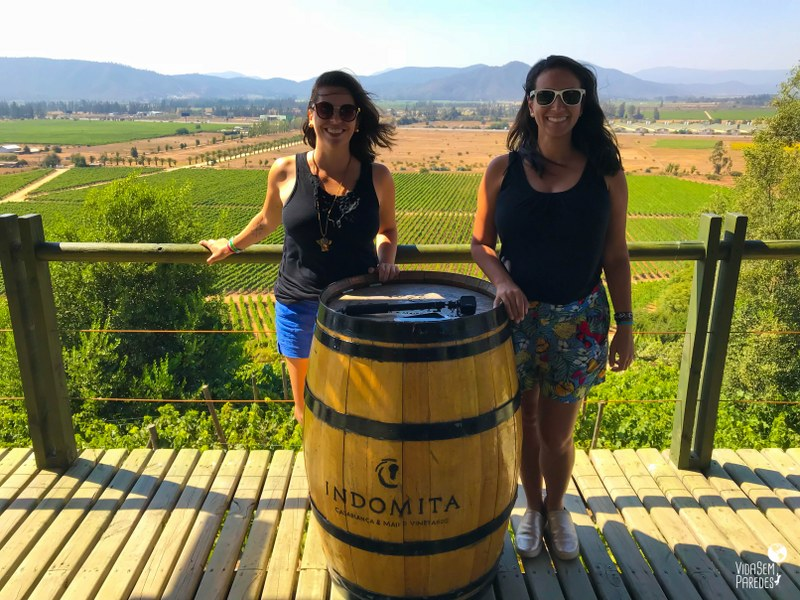 Rota do Vinho no Chile: tour no Valle de Casablanca - Viña Indomita