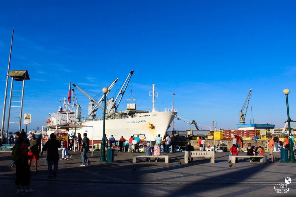 O que fazer em Valparaíso, Chile: porto