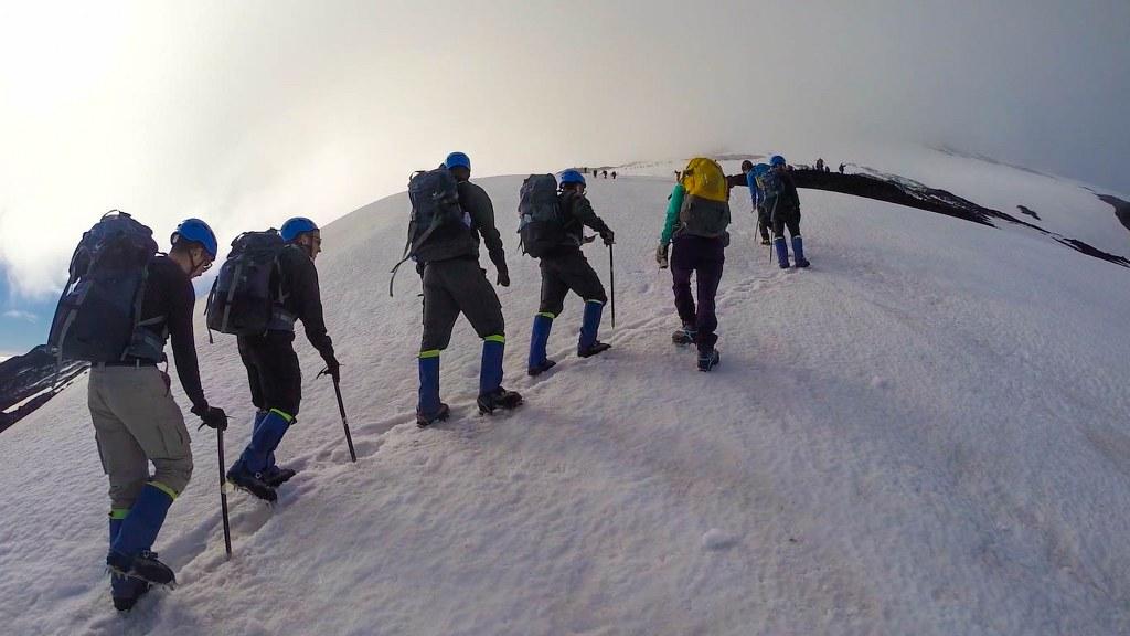 Dicas para o trekking no vulcão Villarrica em Pucón, sul do Chile