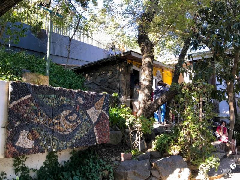 La Chascona: a casa museu de Pablo Neruda em Santiago