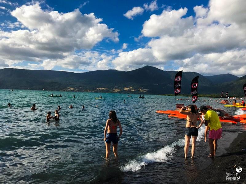 O que fazer em Pucón, Chile: playa Grande
