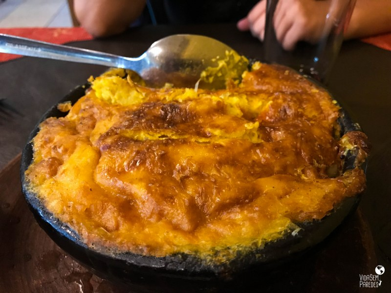 Comidas típicas do Chile: pastel de choclo