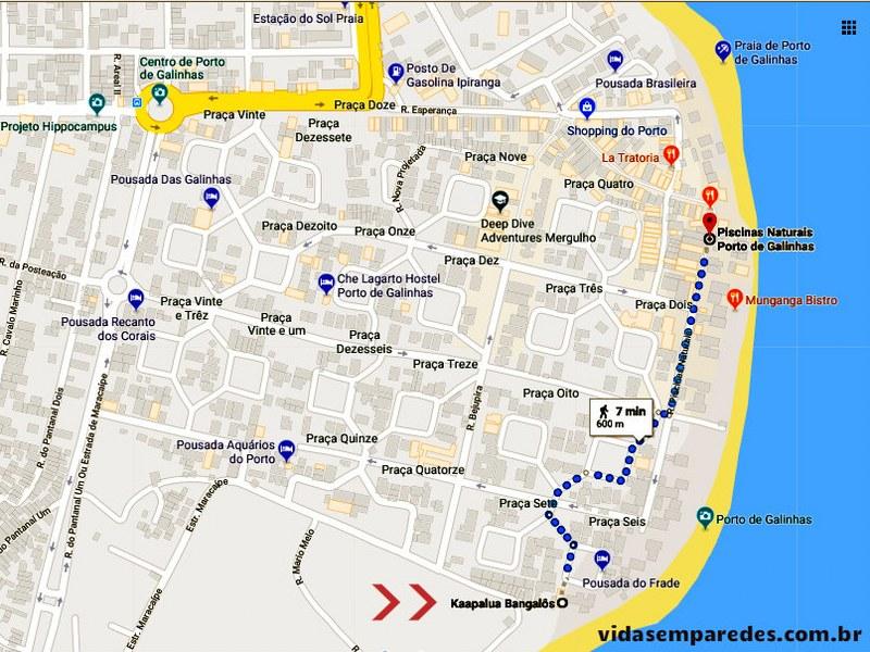 Kaapalua Bangalôs: hospedagem em Porto de Galinhas
