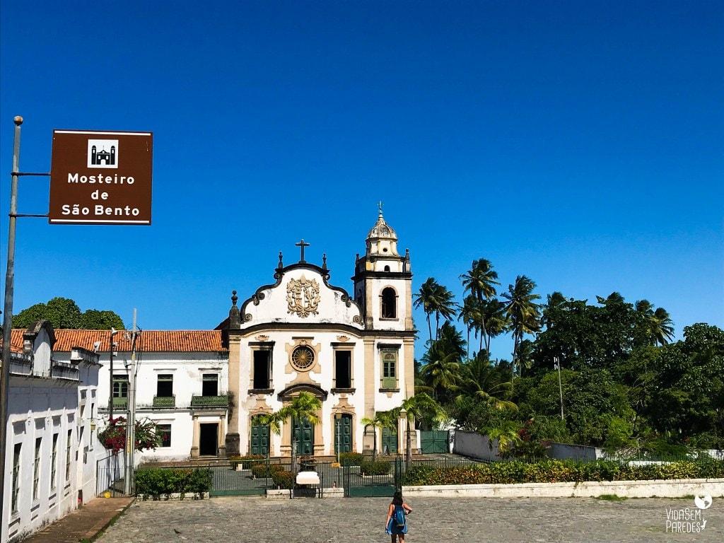 O que fazer no centro histórico de Olinda, Pernambuco: Mosteiro de São Bento